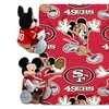 NFL Mickey Mouse Hugger with Throw