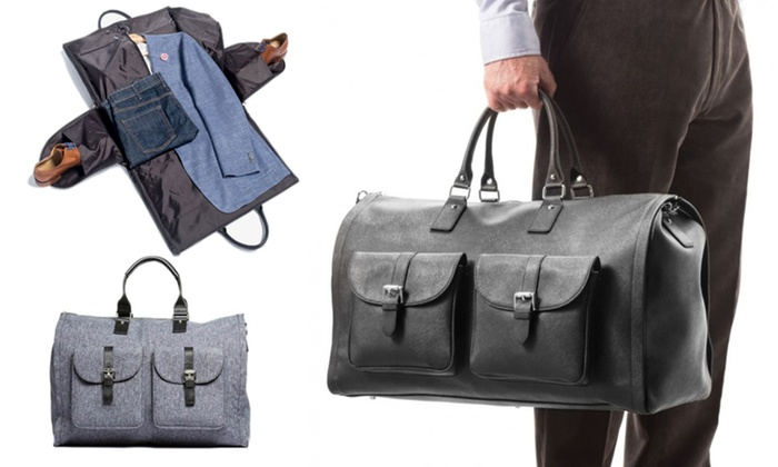 Up To 5% Off on 2-in-1 Convertible Carry-On Bag  7f5fa4bd01520