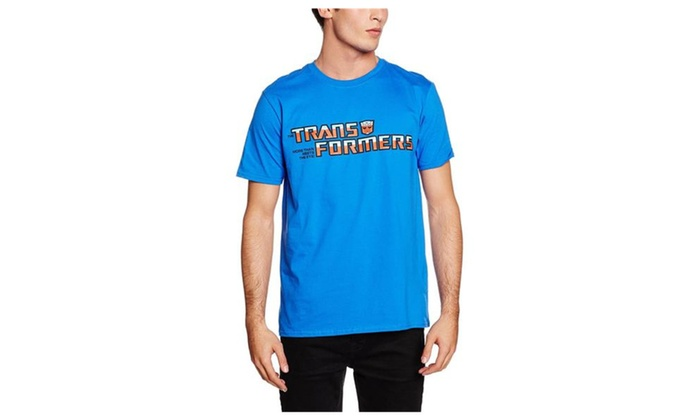 ff2510dba77c7 Rock Off Trade XXL Blue Men s Transformers Autobot Logo T-shirt ...