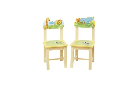 Guidecraft Savanna Smiles Extra Chairs (Set of 2) G86803 e5dcf423-e4a7-483a-b96d-7d8bc32ecff0