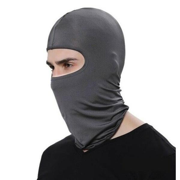Outdoor Ski Motorcycle Cycling Balaclava Lycra Full Face Mask Neck Ultra Thin 23