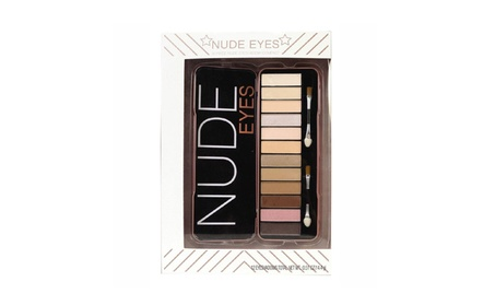 14 Piece Nude Eyeshadow Set with Eyeshadow Brushes 8d2ad070-0dde-4748-b1ca-73ca4c2ba079