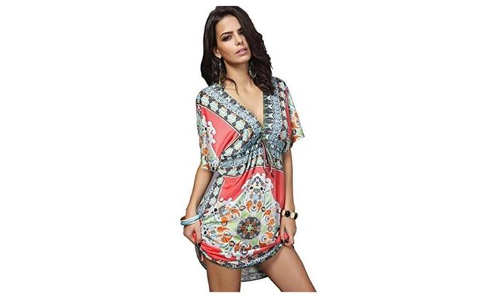 Women's Lace Short Sleeves Dress
