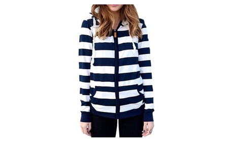 Striped Zip Hoodie b3340f84-bb7d-4bf6-ac56-be906bb845ab