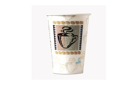 Dixie 5342CDPK Hot Cups, Paper, 12 oz, Coffee Dreams Design 6a91208c-3642-4d61-94f9-9405b3a6e54f
