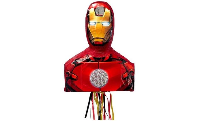 Groupon Goods: Iron Man 3D Pull-String Pinata Party Supplies