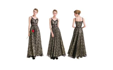 Lady's Lace Knitting Summer Formal Dress c67e30ab-a186-47d6-8937-e83d9fabb349