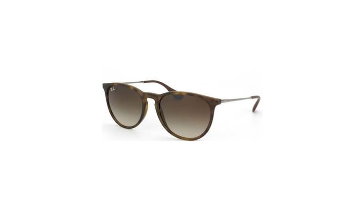 Ray-Ban Erika Sunglasses 54mm (Tortoise Gunmetal / Brown Gradient)