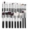 25Pcs Complete Makeup Brushes Face Kabuki Foundation Powder Eyeshadow