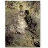 Pierre Auguste Renoir The Lovers c.1875 Canvas Print