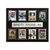 """NFL 12""""x15"""" Brett Favre Minnesota Vikings 8 Card Plaque"""