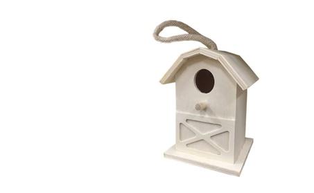 Build Wooden Bird House Kit for Kids (Goods Outdoor Décor Bird Feeders & Baths) photo