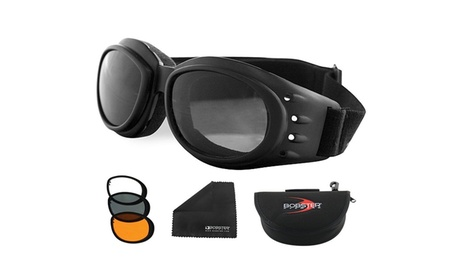 Bobster Cruiser 2 Interchange Goggle 3 Lenses df77d7a3-2df2-497c-aea8-8c3755918a1d