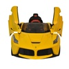 LaFerrari 12V Yellow Licensed Ride On Car For Kids With Remote