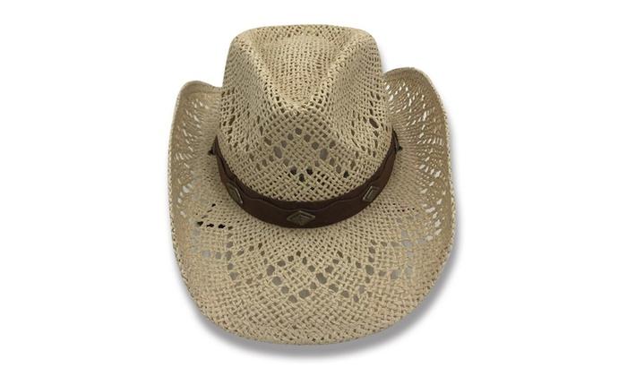 2c1ef1d2e4e8e Old Stone Lacey Women s Cowboy Drifter Style Hat