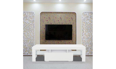 Elegant Household Decoration LED TV Cabinet with Single Drawer