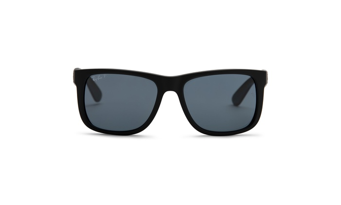 594f405fd Up To 31% Off on Ray-Ban Justin Classic Polari... | Groupon Goods