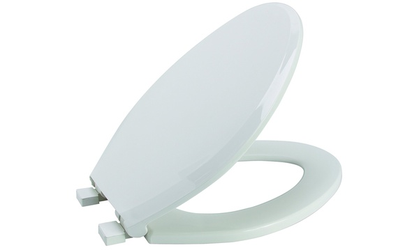 Pleasant Premier 283032 Slow Close Elongated Plastic Toilet Seat White Andrewgaddart Wooden Chair Designs For Living Room Andrewgaddartcom