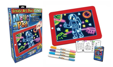 Magic pad Light up LED Drawing Tablet For Kids