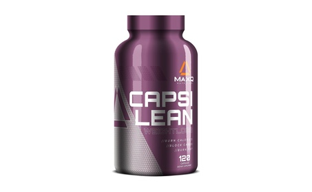 MaxQ Nutrition CapsiLean Weight Loss Pills Stimulant-Free Fat Burner