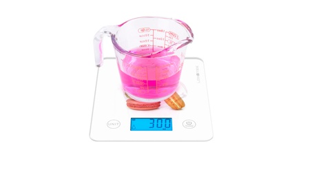Longtek - Digital Kitchen Scale, Food Scale, LARGE SIZE tempered PANEL photo