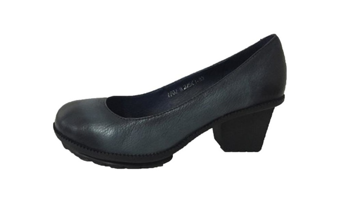 Women's Round Toe Pumps Work Shoes