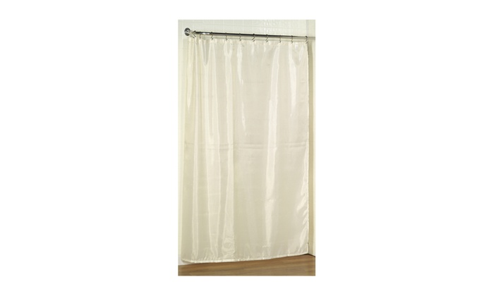 Extra Long 78 Polyester Fabric Shower Curtain Liner