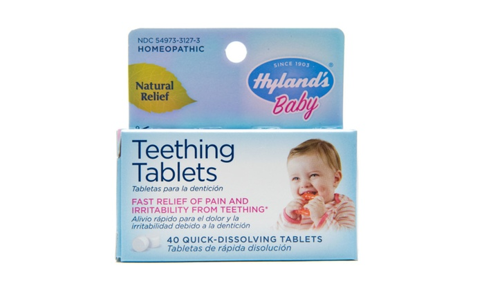 Hyland S Homeopathic Baby Natural Relief Teething Tablets