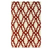 "nuLOOM Vista Collection Hand Made Area Rug, 7'6""x9'6"", Red"