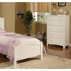 Hlobyne 3 Pieces Youth Bed Room Set in White