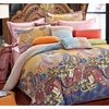 Duvet Cover 3-5 Piece Set, Europe Palace Style, Made By 100% Cotton