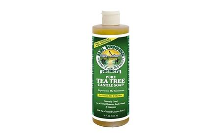 Dr. Woods 0772012 Pure Castile Soap Tea Tree - 16 fl oz 7a1a8492-c4c1-4681-bdc3-a7d1646dd7ea