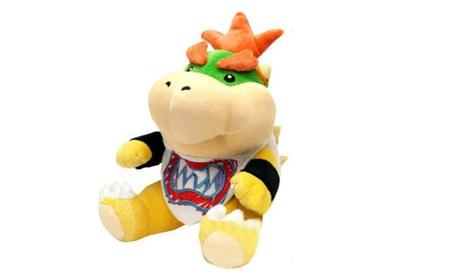 Super Mario Bros Koopa Bowser Jr. Plush Soft Doll Toy Figure Stuffed fe242353-a5c4-43d2-a95b-c2010fc9bb21