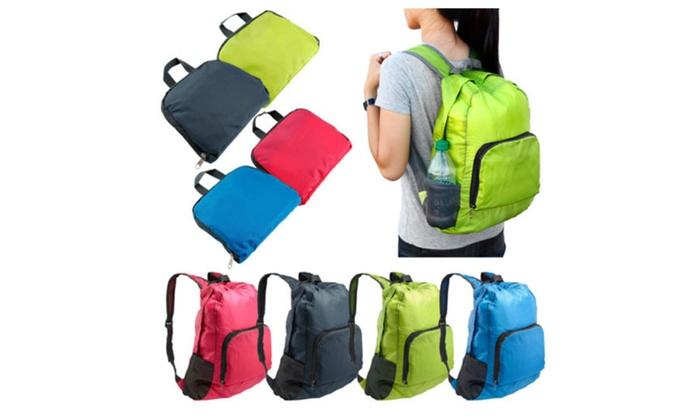 Outdoor Sport Waterproof Foldable Backpack Hiking Bag Camping Rucksack