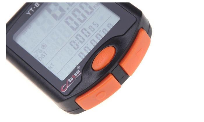 Bicycle Bike LCD Display Digital Computer Speedometer Odometer B2
