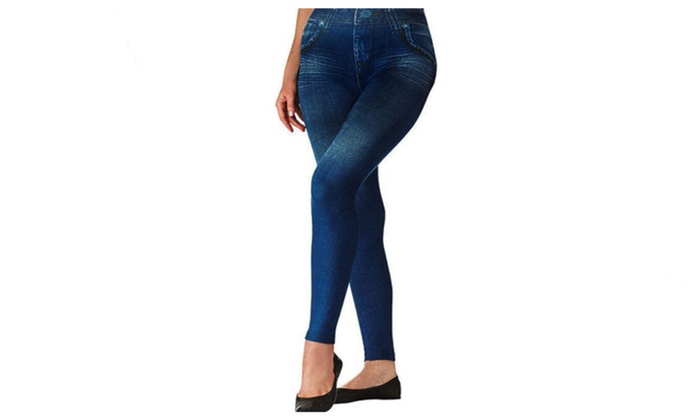 Top Quality Premium New Denim Style Shaper Leggings