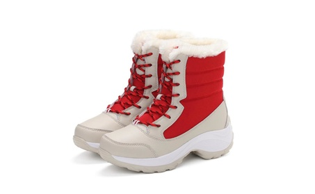 Ms. High cotton boots non-slip wear-resistant eed7769a-77a6-487a-a2ad-da797abc5244