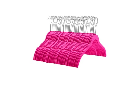 Zober Hangers with Contoured Shoulders and Notches for Straps,60packs 1ec41463-b321-4889-9e7b-2bc00f973098