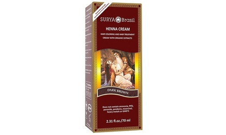 Surya Brasil Henna Cream Hair Coloring (2.31 Fl. Oz.)