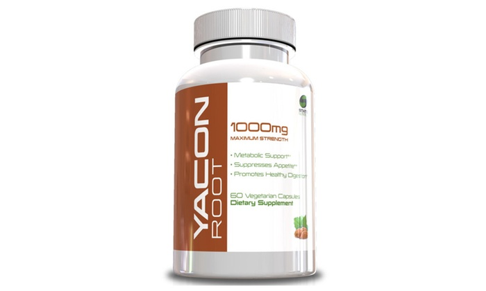 Buy It Now : Buy 1 Get 1 Free Yacon Root Pill for Weight Loss, 60 Capsules