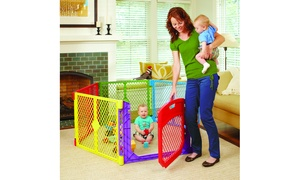 Superyard Colorplay or White Ultimate Play Yard with Door