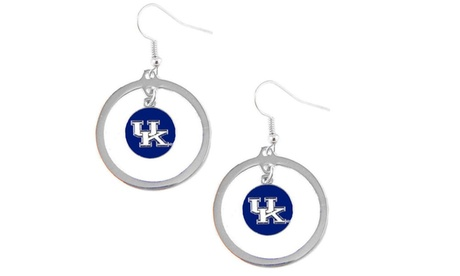 Kentucky Wildcats Hoop Logo Earring Set NCAA Charm 1a592503-cd94-411b-aae7-3a8b85e5d4f0