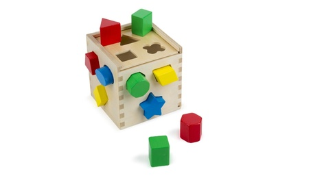 Shape Sorting Cube - Classic Wooden Toy With 12 Shapes e8bab813-4489-4edf-aea6-0d1f8dcca7e2