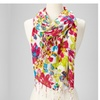 2-Pack of Floral Print Lightweight Scarves - Assorted Styles