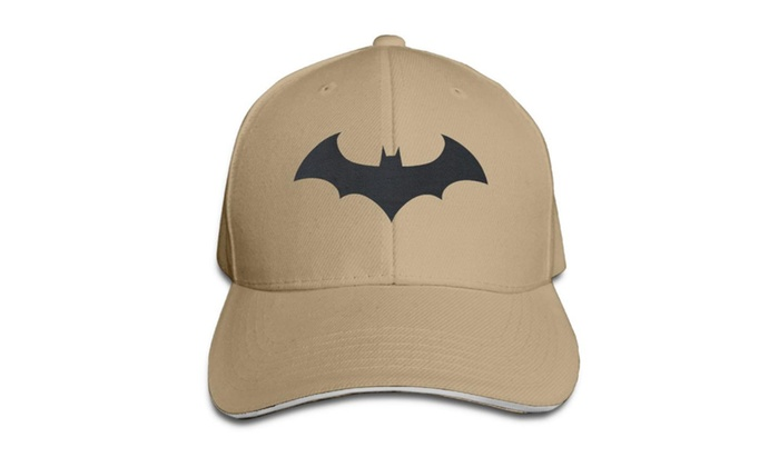 Unisex Batman Hush Logo Printed Baseball Cap Hats