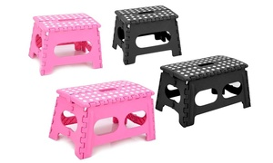 Folding Step Stool with Regular or Extra Wide Platform