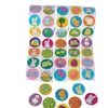 Easter Holiday Round Sticker Assortment 5-Rolls 500pc Themed Gift