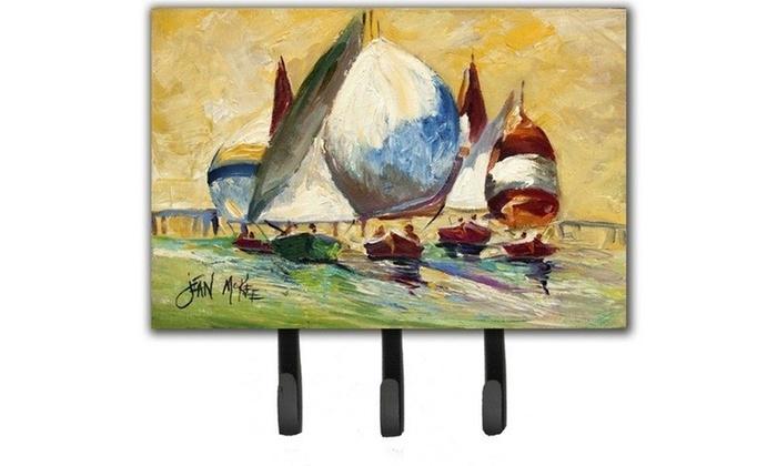 Carolines Treasures JMK1033TH68 Bimini Sails Sailboat Leash & Key Holder
