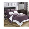 Chic Home CS0526-US Charlene Modern Two Tone Reversible Embellished