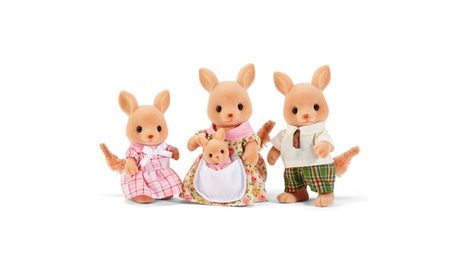 International Playthings - Calico Critters Hopper Kangaroo Family 0cee9158-ec0a-48b0-afe9-8a0987305b3a